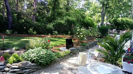 Dennis Cape Cod vacation rental - Pretty landscaped yard