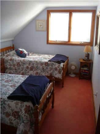 South Chatham Cape Cod vacation rental - Upstairs Bedroom with Twin Beds