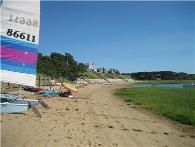Wellfleet Cape Cod vacation rental - ''Just Bluffing'' from our own  beach