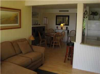 Wellfleet Cape Cod vacation rental - Living Room with flat screen television, DVD, Cable, Wireless