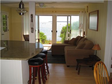 Wellfleet Cape Cod vacation rental - Sweeping Bay and Harbor Views from the 1st Floor