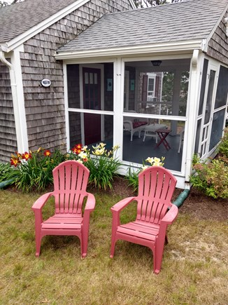 Chatham Cape Cod vacation rental - Sunset Porch