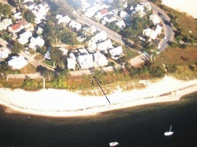 Onset MA vacation rental - Aerial view ! This is your location on Onset Beach!