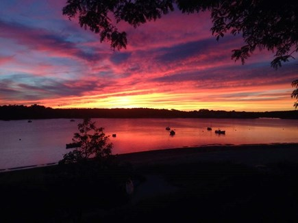 Onset MA vacation rental - THIS could be your beach sunset at the end of the day