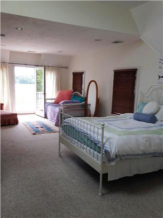 Onset MA vacation rental - Huge master-queen/day bed w/walk-in closet, skylights! Water view