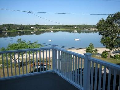 Onset MA vacation rental - Balcony from master bedroom & twin bedroom- all have water views