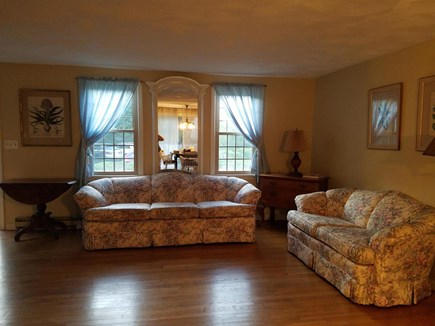 East Dennis Cape Cod vacation rental - Living Room