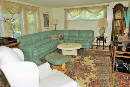 South Yarmouth Cape Cod vacation rental - Extra Large Fire placed Living Room with 42'' LCD Flat Screen TV