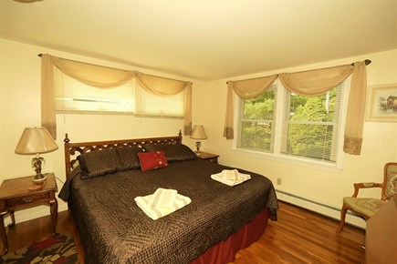 South Yarmouth Cape Cod vacation rental - Bedroom with king bed