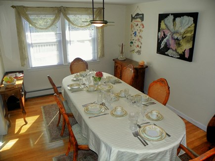 South Yarmouth Cape Cod vacation rental - Dinning room