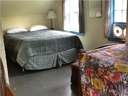 Wellfleet Cape Cod vacation rental - Queen Bedroom with extra Captains Bed Second Floor