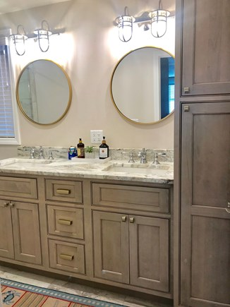 Dennisport Cape Cod vacation rental - Master Bathroom - 1st floor