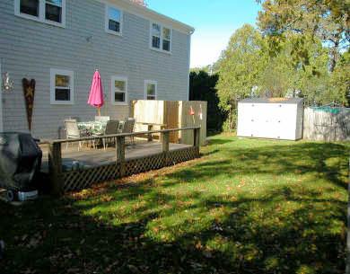 Dennisport Cape Cod vacation rental - Backyard