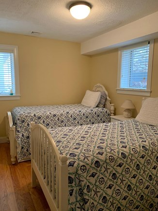 West Falmouth Cape Cod vacation rental - Twin bedroom on the first floor.