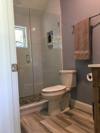 West Falmouth Cape Cod vacation rental - One of the three full bathrooms.
