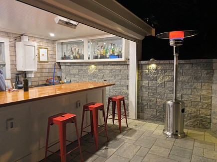 West Falmouth Cape Cod vacation rental - Outdoor bar