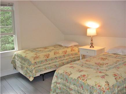 Brewster-North of 6A Cape Cod vacation rental - 2nd floor bedroom with twin beds