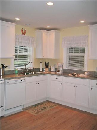 Brewster-North of 6A Cape Cod vacation rental - Well equipped kitchen with full size appliances