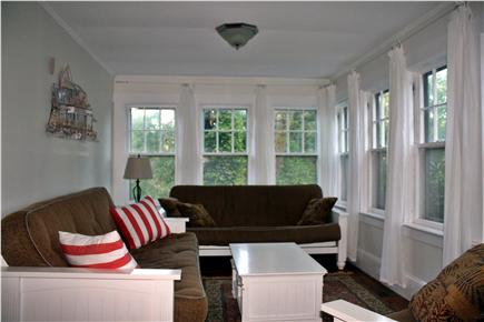Brewster-North of 6A Cape Cod vacation rental - Fabulous porch for all to enjoy!