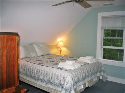 Brewster-North of 6A Cape Cod vacation rental - Master bedroom on 2nd floor with Queen size bed