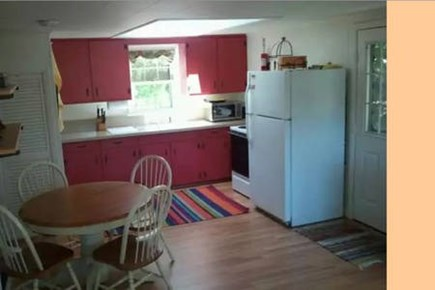 Wellfleet Cape Cod vacation rental - Cottage #2 Kitchen has skylight, picture window looking to bay
