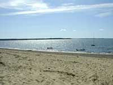 Wellfleet Cape Cod vacation rental - Sandy beach across the street. Run back and forth (easily)