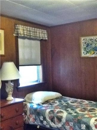 Wellfleet Cape Cod vacation rental - Twin bedroom with windows toward the garden