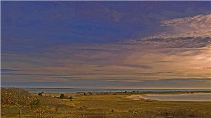 Chatham Cape Cod vacation rental - Sweeping views of Nantucket Sound & Monomoy Iles from deck