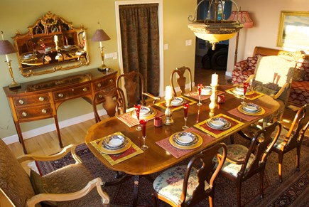 Chatham Cape Cod vacation rental - Formal dining room