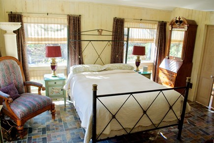 Chatham Cape Cod vacation rental - 1st level bedroom w/ Tempurpedic mattress, flat screen TV
