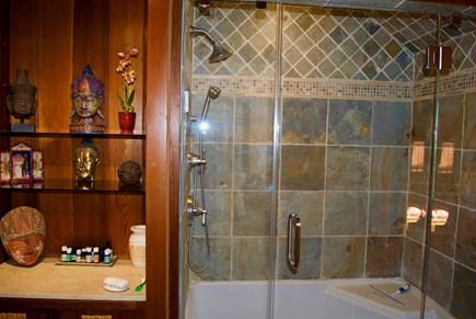 Chatham Cape Cod vacation rental - Masterbath steam aromatherapy shower
