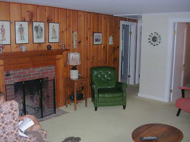 Harwich Port Cape Cod vacation rental - Spacious living room