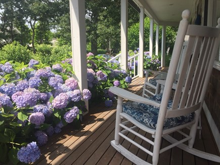 Harwichport Cape Cod vacation rental - Inviting front porch