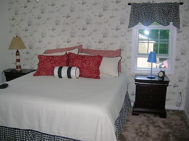 Harwichport Cape Cod vacation rental - Master bedroom - King bed