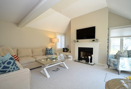 New Seabury, Mashpee New Seabury vacation rental - Lovely and comfortable Living Room with slider to patio and pool.