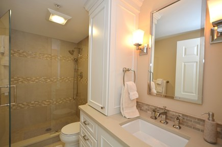 New Seabury, Mashpee New Seabury vacation rental - First Floor bathroom with walk-in shower.
