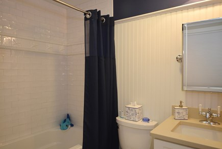 New Seabury, Mashpee Cape Cod vacation rental - Upper level guest private bathroom.