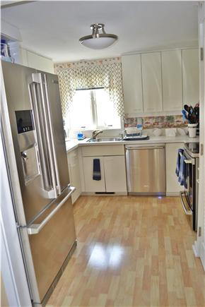 New Seabury, Mashpee Cape Cod vacation rental - Kitchen with stainless steel appliances