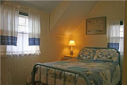 Onset MA vacation rental - Upstairs bedroom with Full size bed w/water view