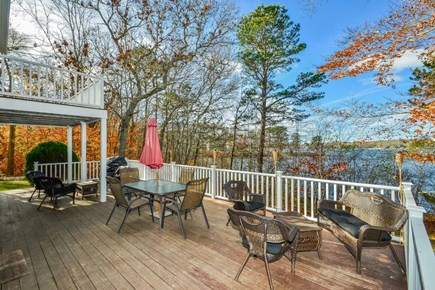 Centerville Centerville vacation rental - Rear deck for entertaining and sunsets