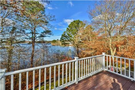 Centerville Centerville vacation rental - View from the Back Deck w/Private Dock and Swingset