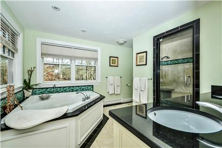 Centerville Centerville vacation rental - Master Bath with Double Shower, Steam and Jacuzzi