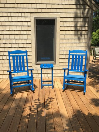 New Seabury Cape Cod vacation rental - Private Master Bedroom Deck