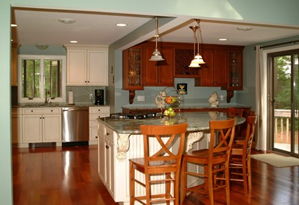 New Seabury Cape Cod vacation rental - Kitchen (Island seating for 6)