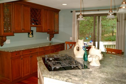 New Seabury New Seabury vacation rental - Kitchen cooktop (Island seating for 6)