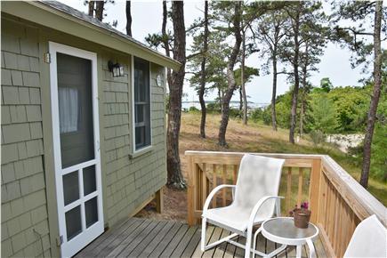 Wellfleet Cape Cod vacation rental - Deck
