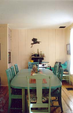Wellfleet Cape Cod vacation rental - Dining Room - banquet size table