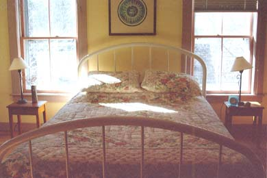 Wellfleet Cape Cod vacation rental - Large and airy master third floor bedroom