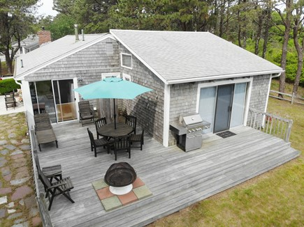 South Yarmouth Cape Cod vacation rental - Back of house