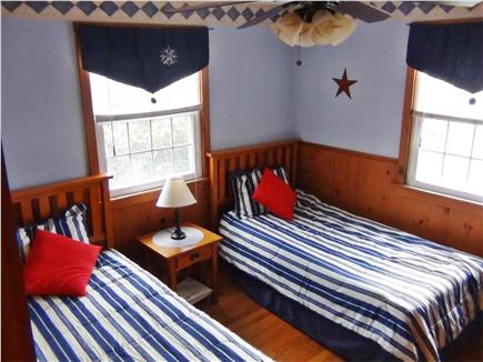East Orleans - Nauset Heights Cape Cod vacation rental - Bedroom #2  Two Twin Beds